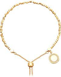 Astley Clarke - Cosmos 18ct Yellow-gold Vermeil And Sapphire Kula Bracelet - Lyst