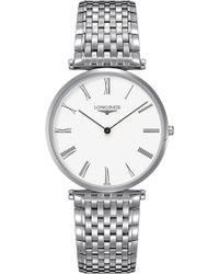 Longines - L4.766.4.11.6 La Grande Classique Watch - Lyst