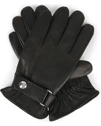 Polo Ralph Lauren - Leather Touch Screen Gloves - Lyst