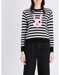 Chocoolate - Bunny-motif Knitted Jumper - Lyst