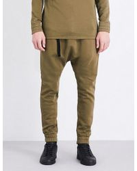 Blood Brother - Rutland Cotton Jogging Bottoms - Lyst