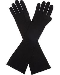CASH CA - Long Cashmere Gloves - Lyst