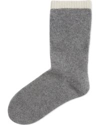 CASH CA - Cashmere Bed Socks - Lyst
