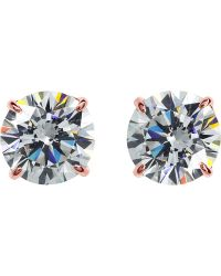 Carat* - Eternal 4 Prongs Solitaire Studs - Lyst