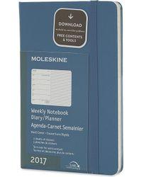 Moleskine - 18-month Hardcover Weekly Pocket Planner - Lyst