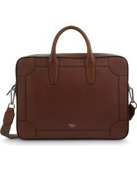 Mulberry | Vegetable Tanned Leather Briefcase | Lyst