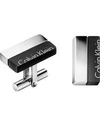 Calvin Klein - Boost Stainless Steel Cufflinks - Lyst