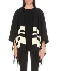 FRAME - Knitted Alpaca Poncho - Lyst