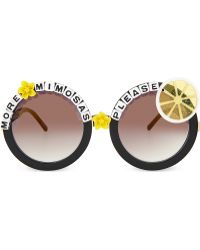 Rad & Refined - More Mimosas Please Round-frame Sunglasses - Lyst