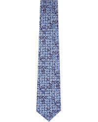 Turnbull & Asser - Multi Dot Silk Tie - Lyst