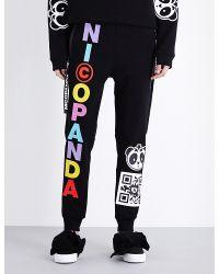 Nicopanda | Panda Nation Stretch-jersey Jogging Bottoms | Lyst