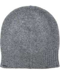 Pringle of Scotland - Ribbed Lambswool Beanie - Lyst