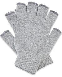 Pringle of Scotland - Fingerless Cashmere Gloves - Lyst