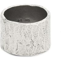 M. Cohen - Passage Sterling Silver Medium Tube Ring - Lyst