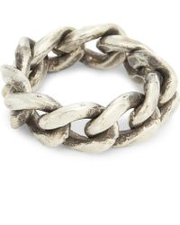 M. Cohen - Passage Sterling Silver Large Link Ring - Lyst