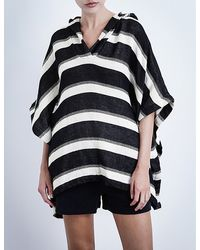 Solid & Striped - The Beach Cape Cotton-blend Poncho - Lyst