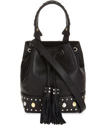 Sandro - Alane Leather Bag - Lyst