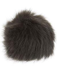 Helen Moore - Faux Fur Single Pom Pom - Lyst