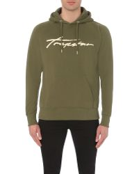 Trapstar - Signature Cotton-jersey Hoody - Lyst