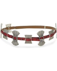 Toga - Leather Metalwork Belt - Lyst