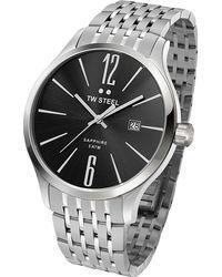 TW Steel - Tw1306 Slim Line Stainless Steel Watch - Lyst