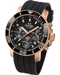 TW Steel - Tw702 Grandeur Rose Gold Watch - Lyst