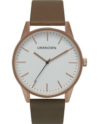 Unknown - Un15tc18 The Classic Rose Gold-toned Stainless Steel Watch - Lyst