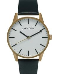 Unknown | Un15tc20 The Classic Gold-toned Stainless Steel Watch | Lyst
