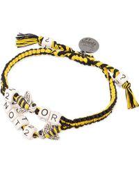 Venessa Arizaga - To Bee Or Not To Bee? Ceramic Bracelet - Lyst