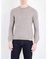 Tengri - Gauntlet Knitted Yak Jumper - Lyst