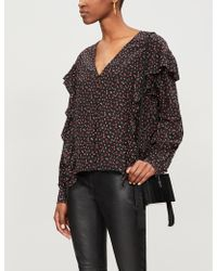 192ab850a14575 Women's The Kooples Tops - Lyst