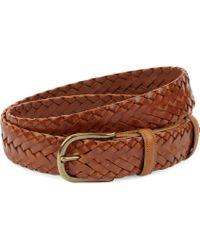 Elliot Rhodes   Hand-woven Leather Belt   Lyst