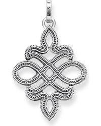 Thomas Sabo | Rebel At Heart Sterling Silver Pendant | Lyst