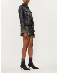 Zadig & Voltaire - Liam Leather Jacket - Lyst