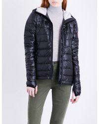 Canada Goose - Ladies Black Breathable Hybridge Lite Shell Down Jacket - Lyst
