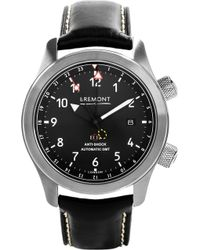 Bremont | Mb111/bz Martin Baker Stainless Steel Adn Leather Watch | Lyst