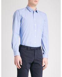 Thomas Pink - Longitude Slim-fit Checked Cotton Shirt - Lyst