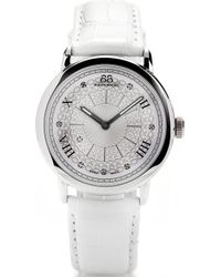 88 Rue Du Rhone | 87wa120008 Stainless Steel And Leather Watch | Lyst