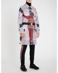 Undercover - Astronaut-print Shell Coat - Lyst
