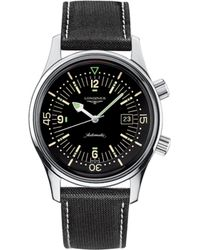 Longines | L3.674.4.50.0 Legend Diver Watch | Lyst
