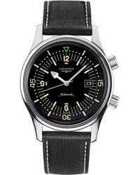Longines - L3.674.4.50.0 Legend Diver Watch - Lyst