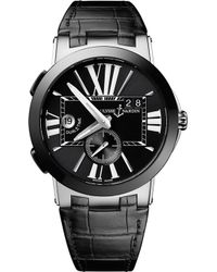 Ulysse Nardin - 243-00/42 Executive Dual Time Stainless Steel Watch - Lyst
