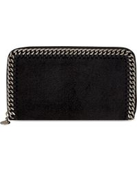 Stella McCartney | Falabella Zipped Wallet | Lyst