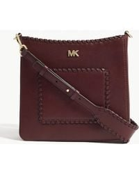 MICHAEL Michael Kors - Gloria Leather Swingpack Pouch - Lyst