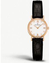Carl F. Bucherer - 00.10303.03.27.01 Adamavi Rose-gold And Alligator Leather Watch - Lyst