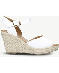 Miss Kg - Paisley Espadrille Wedge Sandals - Lyst