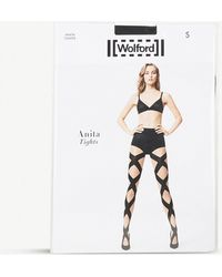 Wolford - Anita Woven Tights - Lyst
