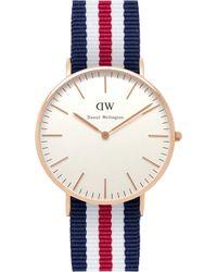 Daniel Wellington - 0502dw Classic Canterbury Ladies Watch - Lyst