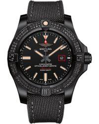 Breitling - Avenger Blackbird 44 Titanium Watch - Lyst