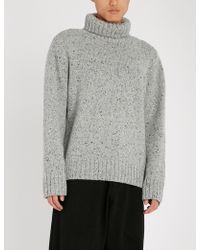 JOSEPH - Turtleneck Wool And Cashmere-blend Jumper - Lyst